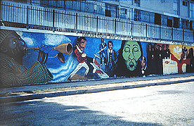 Bernard Hoyes Mural, In the Spirit of Contribution